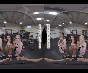 VR Gangbang IN THE GYM WITH..