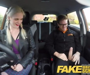 Fake Driving School Student..