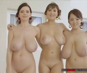 Three girls with ideal..