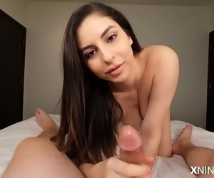 Young Latina Hoe uses Feet..
