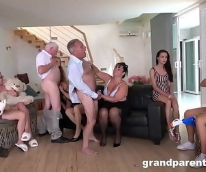 Pervy Grandparents Orgy part..